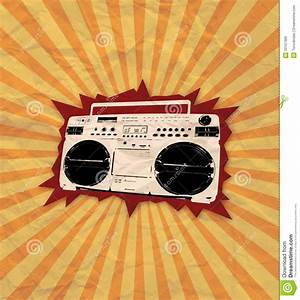 Retro Cassette Flyer 03 Royalty Free Stock Images - Image ...