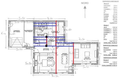 plan maison etage 4 chambres 1 bureau plan maison r 1 4 chambres bureau 14 messages