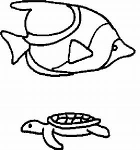 Tropical Fish Outlines - ClipArt Best