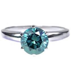 verlobungsringe gold mit stein 0 50 karat blauer solitär diamantring 585er weißgold blau si2 diamantring diamantarmband
