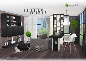 connection dining room at simcredible designs 4 sims 4