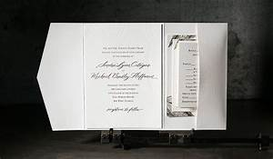 custom gold foil stamped wedding invitations With personalised foil wedding invitations