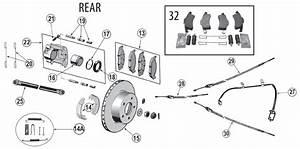 Jeep Grand Cherokee Wj Rear Brake Parts   U0026 39 99