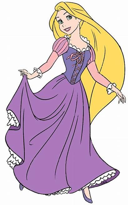 Rapunzel Tangled Disney Clipart Clip Princess Transparent