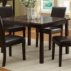 Crown Mark Pompei 2377t3648 Rectangular Dining Table With