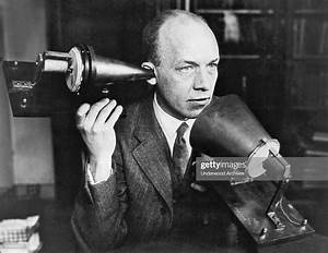 A Man Using One Of Alexander Graham Bell U0026 39 S First Telephones  Circa    News Photo