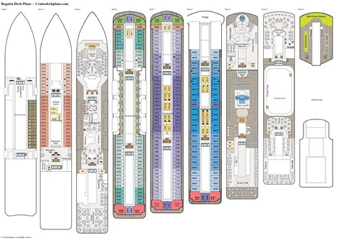 Carnival Valor Deck Plan Printable by Regatta Deck Plans Cabin Diagrams Pictures