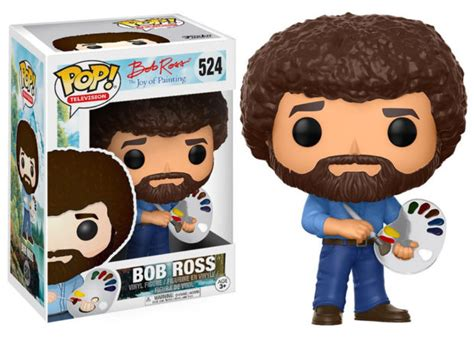 Bob Ross Gets His Own Funko Pop! Figure