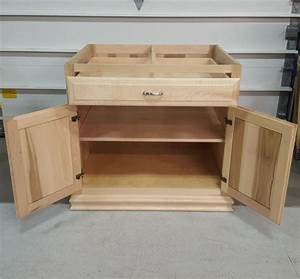 Custom, Maple, Kitchen, Island, Base, Cabinet