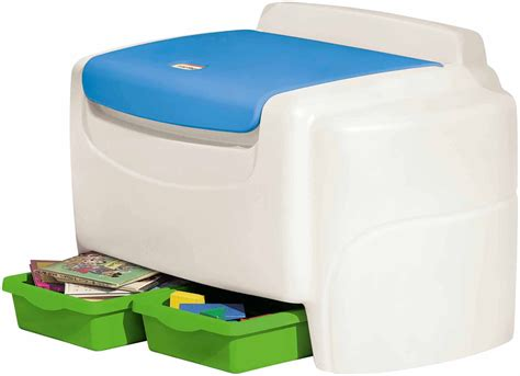 Little Tikes Toy Box With Shelf
