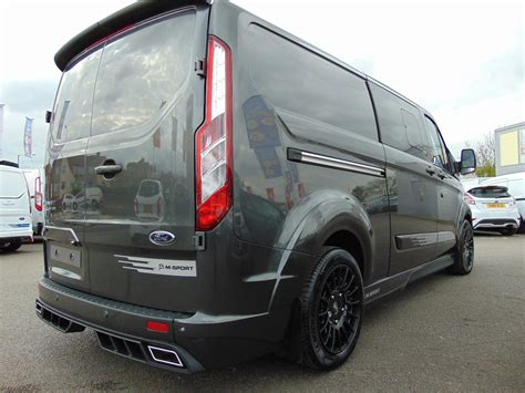 used 2017 ford transit custom m sport ms rt 290 l2 cab special edition 2 0 tdci 170ps in