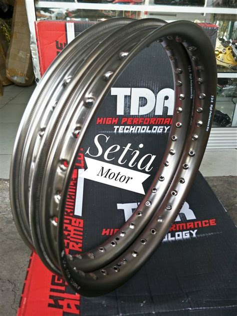 Velg Tdr Ring 17 by Jual Velg Tdr Oval Ring 17 Lebar 140 160 Sepasang Brown