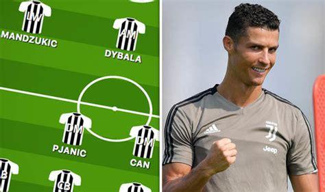 Juventus team news: Predicted Juventus line up vs ...