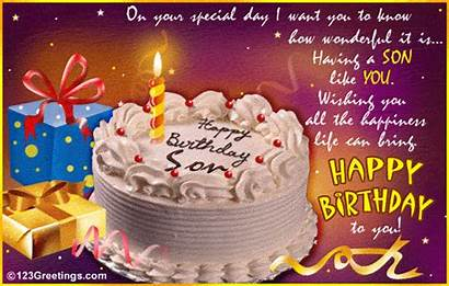 Son Birthday Greetings Cards Message Wonderful Daughter