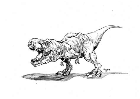 Jurassic World Coloring Pages Velociraptor Free