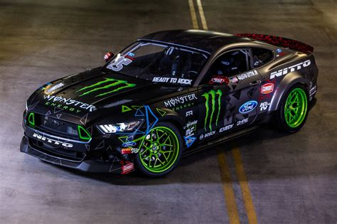 Gittin Shows Off New Competition 2018 Mustang Rtr Drift Car