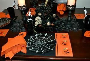Gruselige Bastelideen Zu Halloween : zu halloween basteln meistern sie eine festliche tischdeko ~ Lizthompson.info Haus und Dekorationen