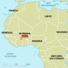 Planisphère : Burkina Faso - Cartes - Encyclopædia Universalis