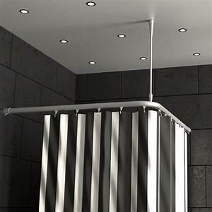 Duschvorhangstange Badewanne L Form : duschvorhangstange aluminium mit innenlaufrohr l form haus haus duschvorhangstange und rohre ~ Orissabook.com Haus und Dekorationen