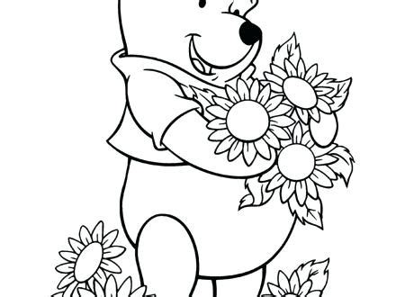 Free Winnie The Pooh Coloring Pages Printable
