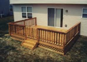 16 x 14 deck with gate and apron building plans only at menards 174