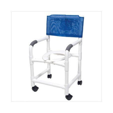 Pvc Commode Chair by Lumex Pvc Shower Commode Chair With Footrest Walmart