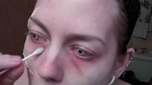 zombie makeup tutorial - YouTube