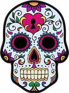Tete De Mort Mexicaine Dessin : sticker calavera tete de mort mexicaine 3 ~ Melissatoandfro.com Idées de Décoration