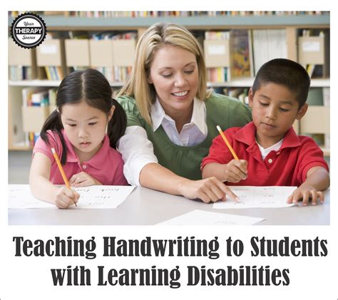 teaching handwriting  students  learning