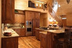 rustic cabin kitchen ideas rustic cabin style rustic kitchen by walker woodworking