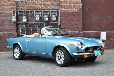 Fiat 2000 Spider 1981 fiat 2000 spider the one not made in japan the