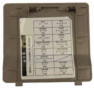 1995 Toyota Avalon Fuse Box Location  Toyota  Auto Fuse