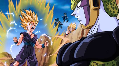 Cell Dbz Wallpapers ·① Wallpapertag