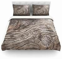 "nice rustic duver cover Susan Sanders ""Tree Bark"" Brown Wooden Duvet Cover ..."