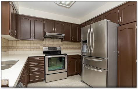 Spray Paint Kitchen Cabinets Toronto  Cabinet  Home