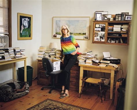 Writer's Room: Jane Smiley - The writer in her cluttered ...