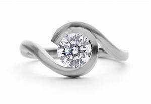 wave platinum engagement ring mccaul goldsmiths With platnium wedding ring