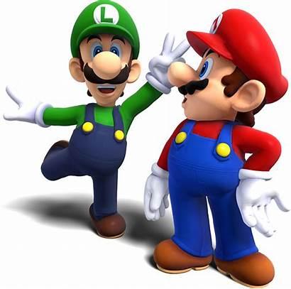 Mario Luigi Bros Render Blender Remake Transparent