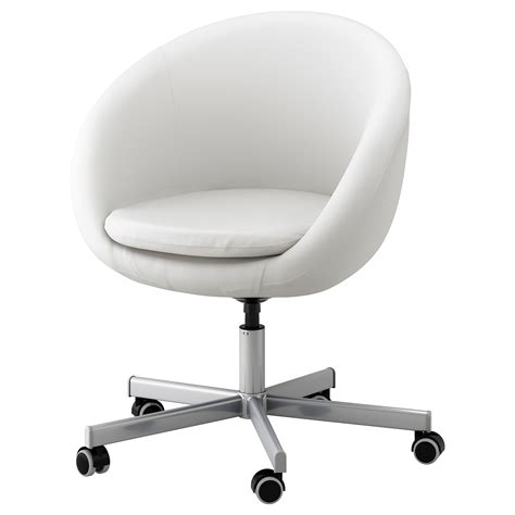 ikea office desk chair skruvsta swivel chair idhult white ikea