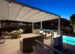 Toile Extérieure Pour Terrasse : luminaire exterieur pour pergola ~ Melissatoandfro.com Idées de Décoration