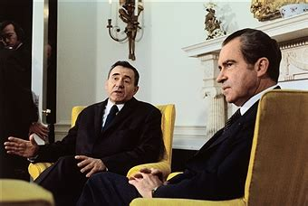 President Richard Nixon And Foreign Minister Andrei