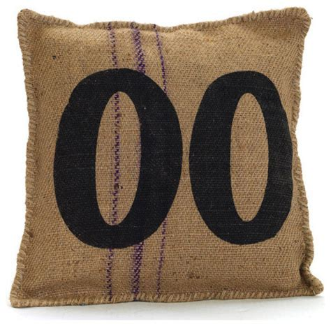 Vintage Sack Pillow #00   Industrial   Decorative Pillows