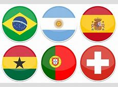 2014 World Cup Flags Iconset 32 icons Custom Icon Design