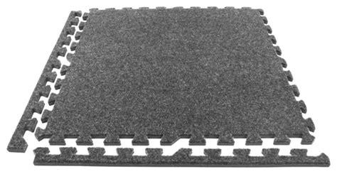 eco soft foam carpet tiles gray set of 12 48 sq