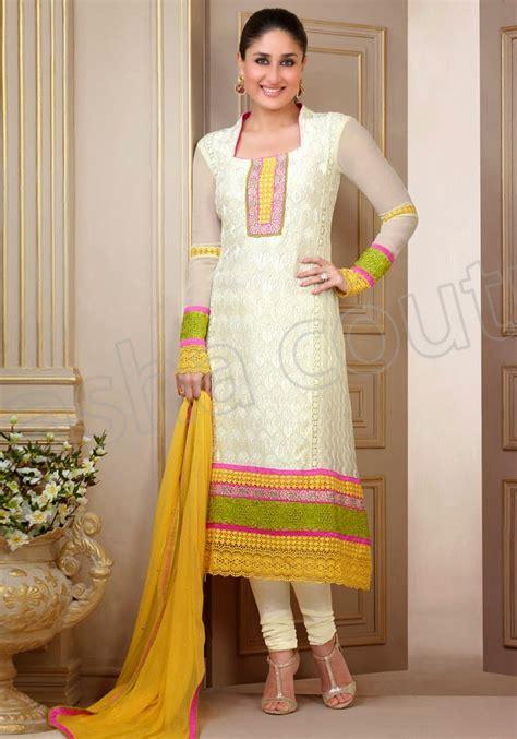 designer suits semi georgette salwar suits 2014 2015 kareena kapoor designer suits nishat winter collection
