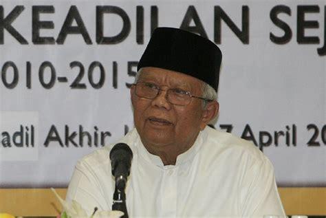 kh hilmi aminuddin meninggal dunia voa islamcom