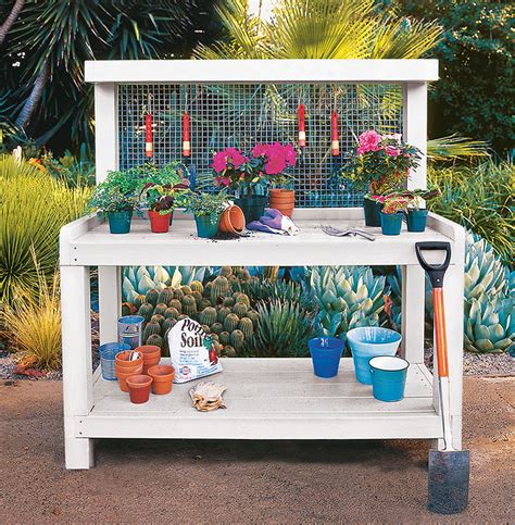 Diy Garden Bench by 18 Diy Potting Benches You Ll Want To Show The