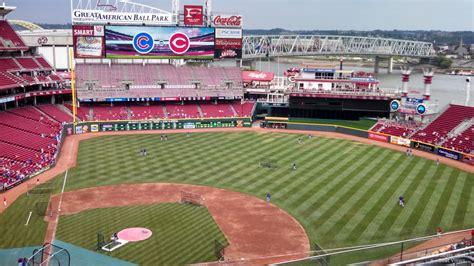 great american ball park section  cincinnati reds