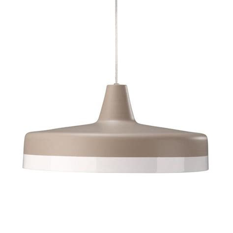 modern retro metal ceiling light pendant shade grey white