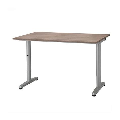 galant desk gray t leg ikea startup office